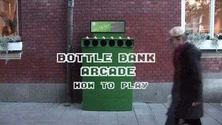 Teoría da Diversión - Bottle Bank Arcade Machine